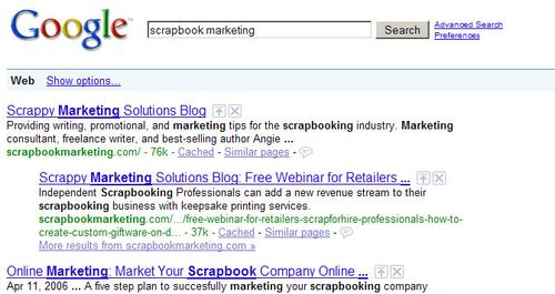 Google-search-scrapbookmarketing