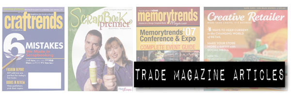 Craft Trade Magazine Article Writing