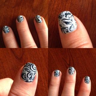 MoYou nail stamping