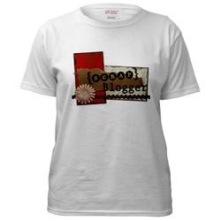 Scrapblogger womens tshirt